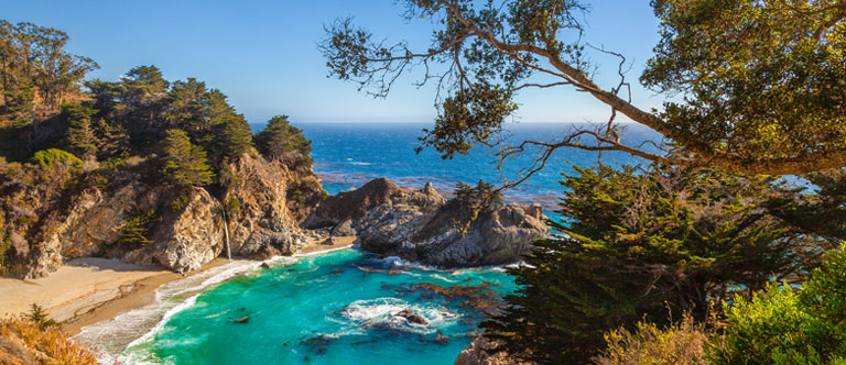 Points Lobos State Park at Comfort Inn Carmel by the Sea California