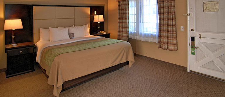 Non Smoking 1 King Bed Suite at Comfort Inn Carmel By The Sea, California